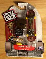 Tech Deck PRIMITIVE DEVINE CALLOWAY GOLD ELK Series 2 NEW Skateboard Fingerboard