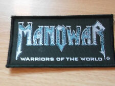 MANOWAR..Warriors of the world...  Music patch... Original  Vintage
