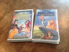 Walt Disney Masterpiece Collection VHS Tapes The Lion King & Sleeping Beauty