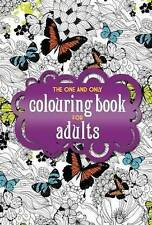 THE ONE & ONLY COLOURING BK FOR A BOOK NEW