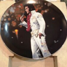 Elvis Presley Collector's Plate 1991 Performance Aloha from Hawaii. Box & CoA .