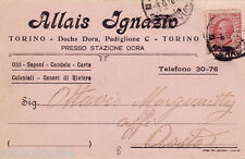 #TORINO: testatina- ALLAIS IGNAZIO- Saponi-olii -candele...DOCHS DORA PAD. C