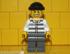 Lego City Thief / Crook / Robber Minifigure NEW