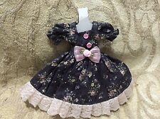 Handmade cute colorful flower printed dress set  for BLYTHE/PULLIP @LAST@