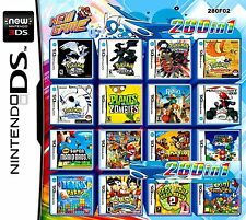 280 in One cartridge Nintendo DS NDS DSLITE /DSi/3DS/3DS Xl Multigame card