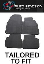 BMW E30 3 SERIES Tailored Fully Fitted custom Car Floor Mats GREY with grey trim