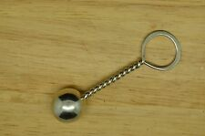 "3"" 925 STERLING SILVER BABY RING TEETHER BALL RATTLE"