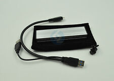 Silver SSD to USB3.0 Hard disk Enclosure Adapter for MacBook Air A1369 2010 2011