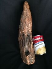 Carved Knot Head Wood Tree Carving Old Man Spirit Haunted Creepy Folk Art Lucky