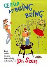 Classic Seuss: Gerald McBoing Boing by Dr. Seuss (2000, Hardcover)
