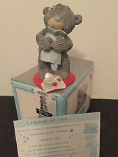 LANGUAGE OF LOVE - RARE BOXED ME TO YOU RESIN FIGURINE