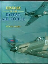 RARE/SIGNED BY WW2 RAF PILOT/SHARPE/HISTORY OF RAF/BURMA/NORTH AFRICA CAMPAIGN
