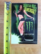 Monster Energy sticker  kawasaki yamaha ama bmx skateboard