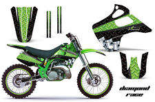 KAWASAKI KX 125/250 Graphic Kit AMR Racing # Plates Decal Sticker Part 92-93 DRG