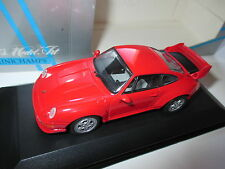 Porsche 911 (993) GT2 in rot rouge rosso red, Minichamps in 1:43 blanc box!