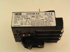 IMO U12/16E 0.6 Thermal Overload Relay Single Phase Protection 0.4-0.6A MBJ1-08