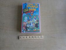 TONS OF TUNEFUL FUN 36 CARTOONS ON 4 HR VHS VIDEO POPEYE FELIX BUGS BUNNY ETC