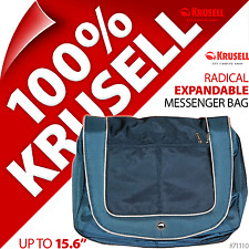 "New Krusell 15.6"" Expandable Laptop Notebook Shoulder/Messenger Bag Case Strap"
