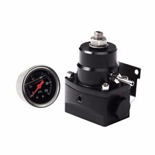 Universal Adjustable Fuel Pressure Regulator 6AN Fitting End & 100psi Gauge Kit