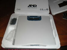 A AND D MEDICAL UC-321PBT BLUETOOTH PRECISION PERSONAL HEALTH SCALE