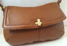 BROOKS BROTHERS Women's Brown Genuine Leather Purse Handbag
