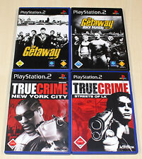 PLAYSTATION 2 SPIELE PS2 SAMMLUNG TRUE CRIME STREETS NEW YORK GETAWAY SHOOTER 18