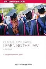 Smith, A.T.H.-Glanville Williams  BOOK NEW