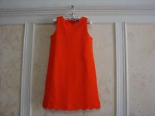 NWT JANIE AND JACK SANTORINI SUNSET GIRLS SCALLOPED PONTE DRESS 3 3T