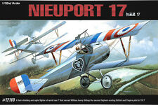 1/32 Academy 12110 NIEUPORT 17 Aircraft Toy Plastic Model Kit