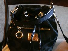 Coach Poppy signature drawstring crossbody bag .. FREE SHIPPING!!
