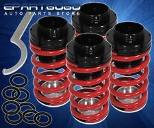 1990-1997 MAZDA MIATA 1.6L 1.8L SUSPENSION LOWERING COIL COILOVER SPRING KIT RED