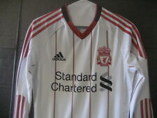 NWT Authentic Adidas 2010 Liverpool player Issue TECHFIT Jersey Gerrard Suarez L