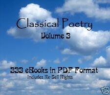 CD - Poetry Collection Volume 3 - 333 eBooks (Resell Rights)
