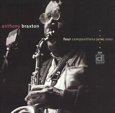 Four Compositions (GTM) 2000 by Anthony Braxton (CD, Feb-2003, Delmark (Label))