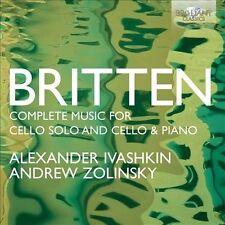 Britten: Complete Music for Cello Solo, New Music