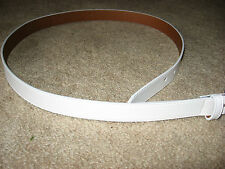 Womens NWT White MAGGIE LANE Golf Belt Small
