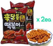 HAITAI Spicy Sauce Seasoned Rice Cake Topokki / Tteokbokki Flavored Korean Snack