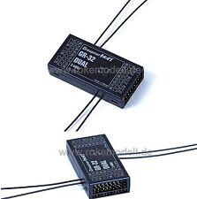 Graupner 33516 GR-32 Dual HoTT Empfänger für 16 Servos, 2,4 GHz aus Fernlenkset