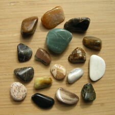 Mixed Lot of Polished Stones Crystals Minerals Natural Colorful Polished Rocks