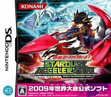 USED Yu-Gi-Oh! 5D's Stardust Accelerator: World Championship 2009 Japan DS