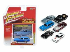 AUTO WORLD 1:64 JOHNNY LIGHTNING CLASSIC GOLD 2016 RELEASE 2A DIECAST CAR SET