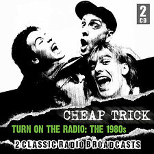 CHEAP TRICK New Sealed 2016 UNRELEASED 1980s ERA LIVE CONCERTS 2 CD SET