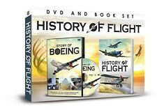 THE STORY OF BOEING DVD & LITTLE BOOK OF FLIGHT HISTORY BEHIND GREATEST PLANES