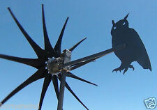 Commander Wind Turbine generator OWL TAIL 11 Blade 1000 Watt 12 Volt AC 3 Phase