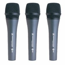 Sennheiser E835 Cardioid Handheld Dynamic Microphone Kit - Includes 3 E835 Kits