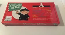 "New/Sealed ""Professor Words"" Learning Game by J.A. Kestal - 1985 Ed."