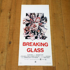 BREAKING GLASS locandina poster Brian Gibson Finch Pryce O'Connor Musical