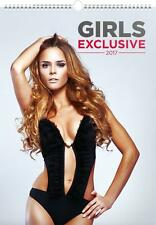 EXCLUSIVE GIRLS IN LINGERIE 2017 LARGE POSTER WALL CALENDAR + FREE UK POSTAGE