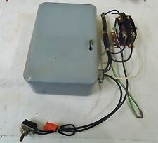INTERMATIC INC. 24 HOUR DIAL TIME SWITCH M/N T101 WITH  FURNAS M/N 45FA20A