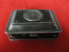 VINTAGE ANTIQUE IMPERIAL RUSSIAN SILVER MUSICAL BOX